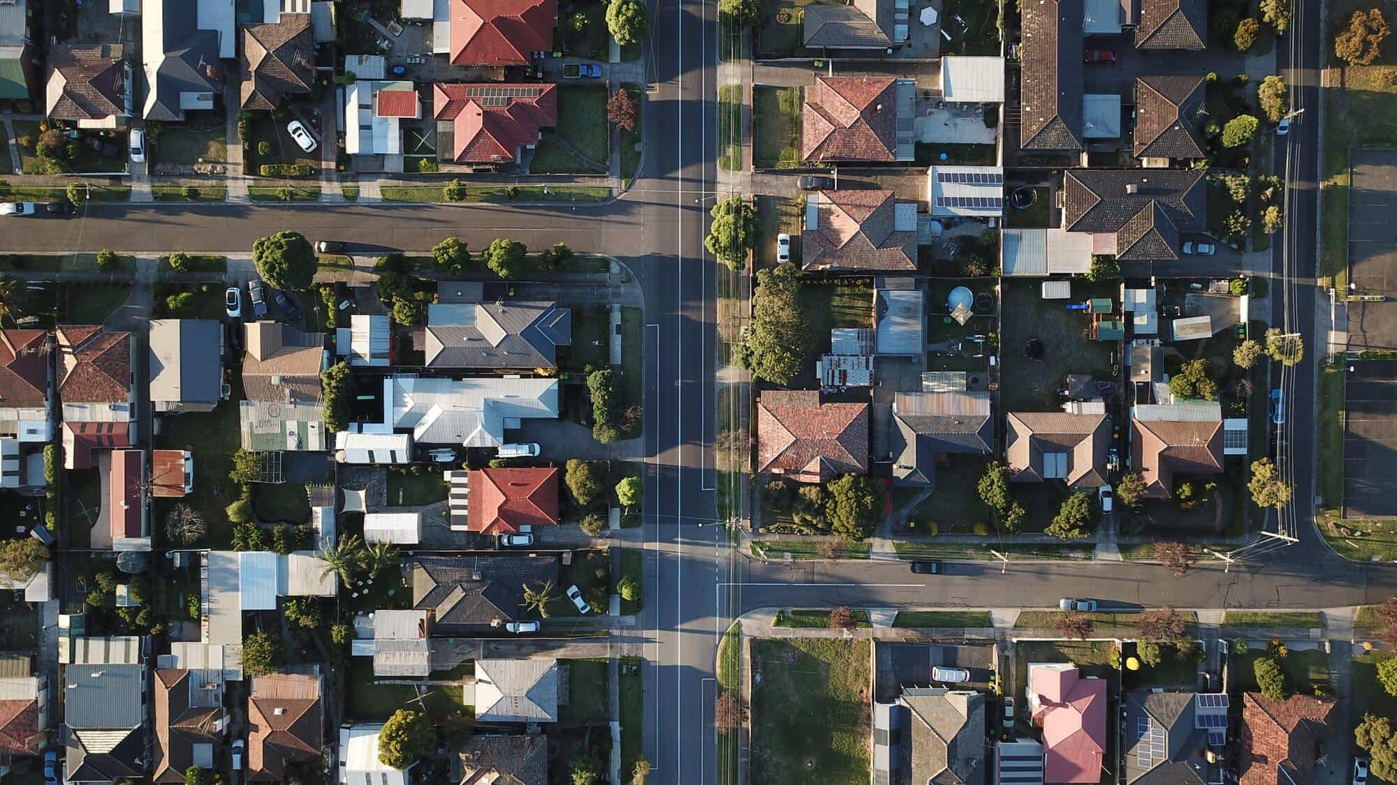 Namų nuotrauk iš drono
